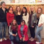 Vi fick besök av blivande tyska förskollärare från Hamburg i oktober 2014